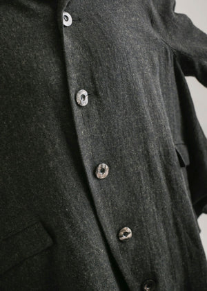 FIVE BUTTONS CIRCLE JACKET
