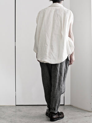 LINEN PIRAMID PANTS