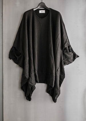 WOOL SQUARE LAP T-SHIRT