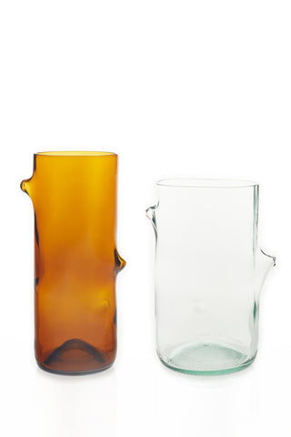 Vases – Mixed (Amber and Clear)