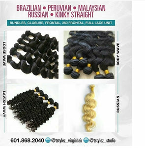 VIRGIN HAIR WHOLESALE DEPOSIT