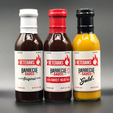 3-Pack of Barbecue Sauces
