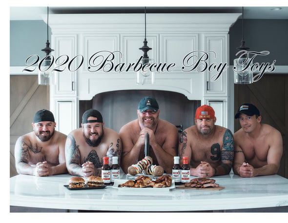 2020 Barbecue Boy Toys Calendar