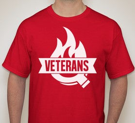 Tee Shirt - Veterans Q  (stacked)