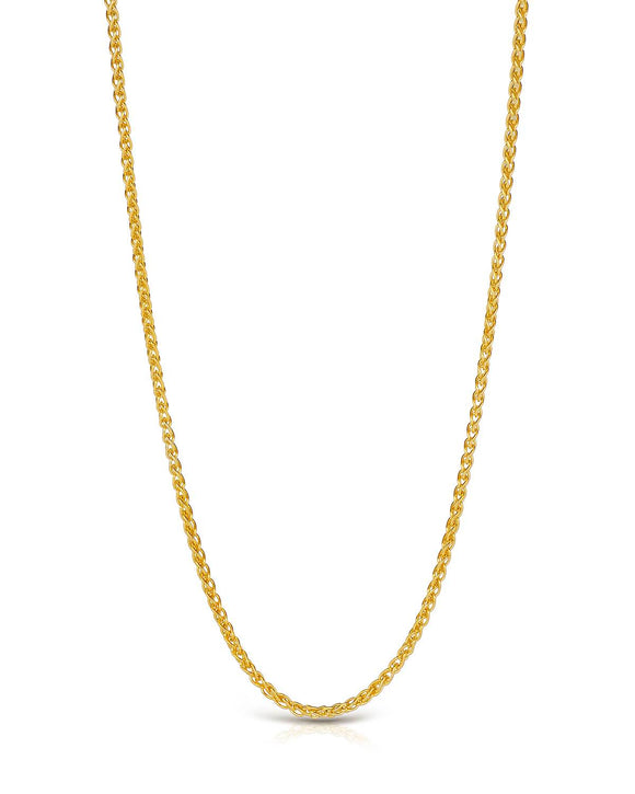 MILLANA Made In Italy 14K Gold Ladies Necklace Weight 4.0g. Length 24 in