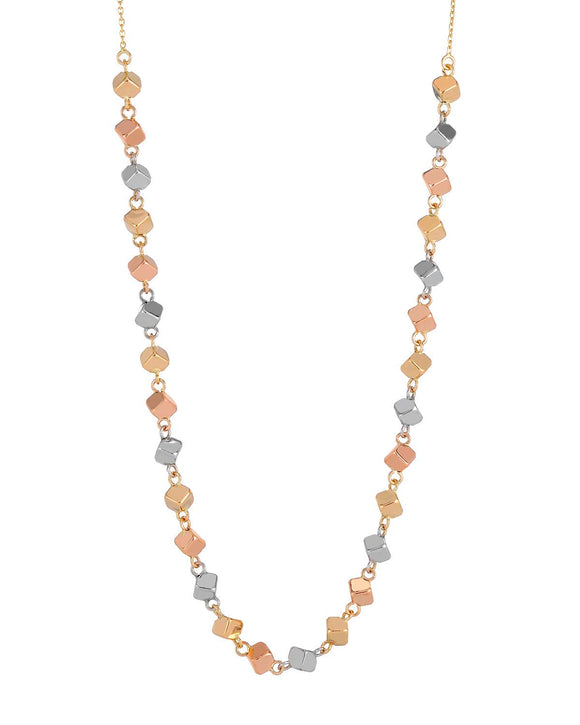 MILLANA Made In Italy 14K Gold Ladies Necklace Weight 3.3g.