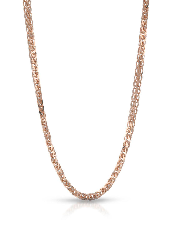 MILLANA Made In Italy 14K Gold Unisex Necklace Weight 4.0g. Length 16 in