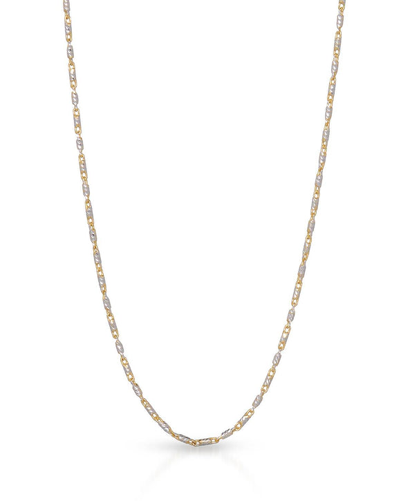 MILLANA Made In Italy 14K Gold Ladies Necklace Weight 3.2g.