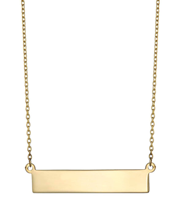 MILLANA Made In Italy 14K Gold Ladies Necklace Weight 3.6g.