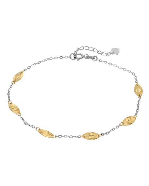 14K Gold Ladies Bracelet Weight 1.0g.