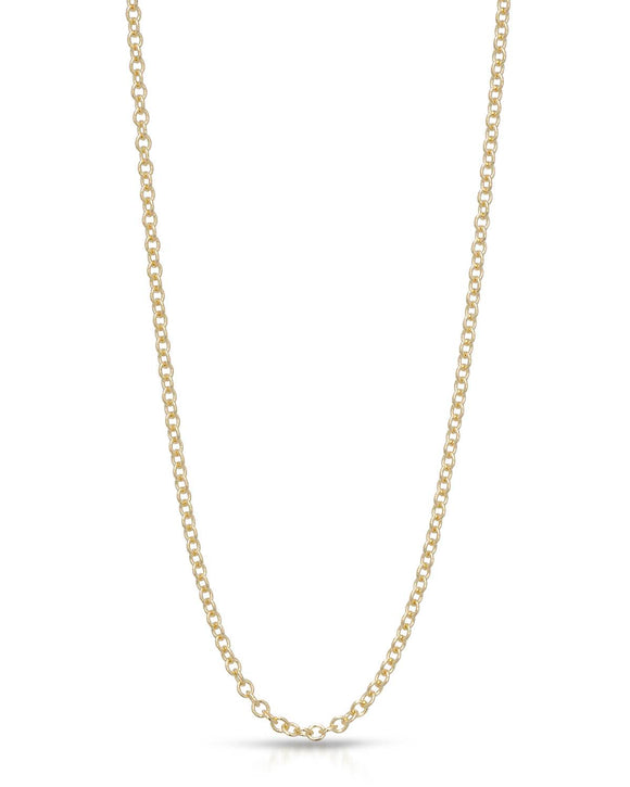 MILLANA Made In Italy 14K Gold Ladies Necklace Weight 4.2g. Length 30 in