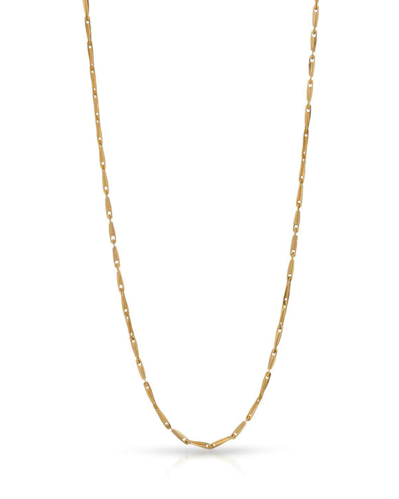 MILLANA Made In Italy 14K Gold Ladies Necklace Weight 4.1g. Length 18 in