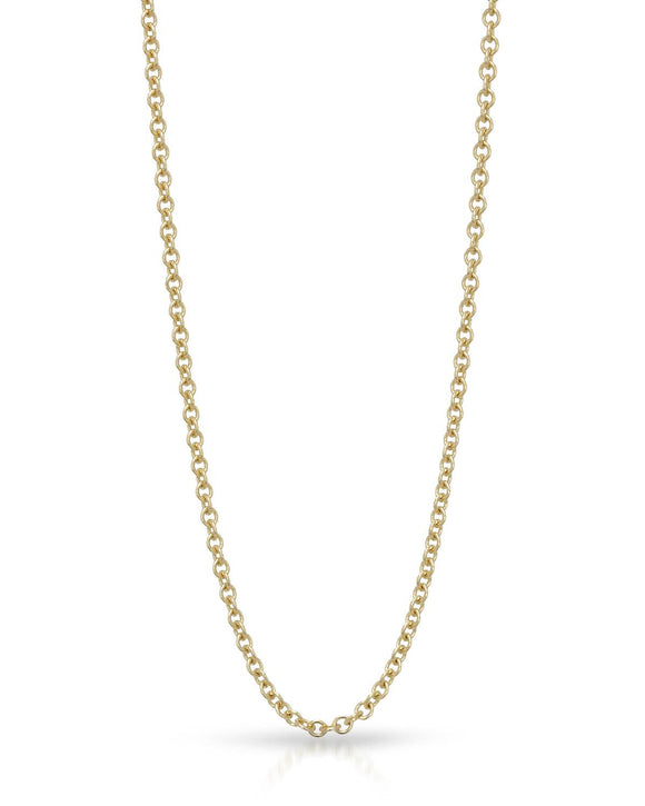 MILLANA Made In Italy 14K Gold Ladies Necklace Weight 4.0g. Length 22 in