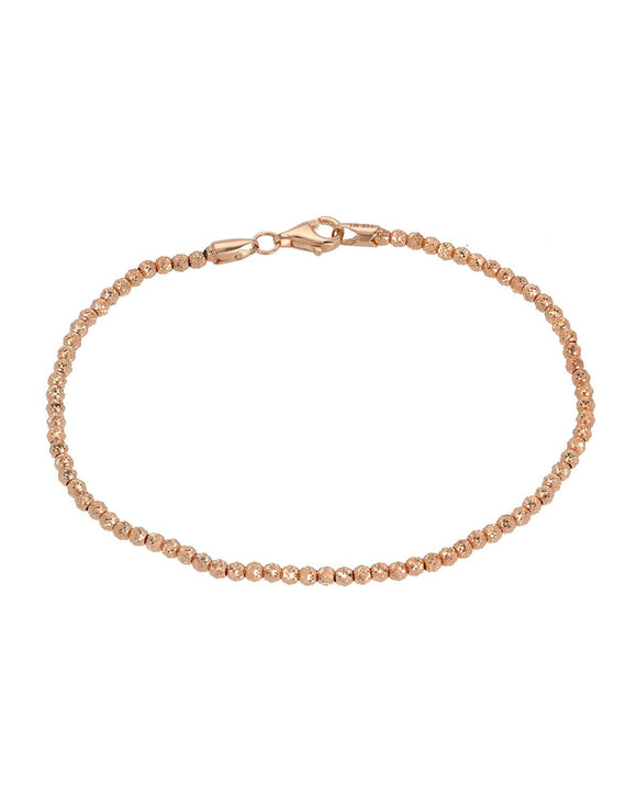 GOLDEN ARC JEWELRY 14K Gold Ladies Bracelet Weight 3.9g. Length 7.5 in