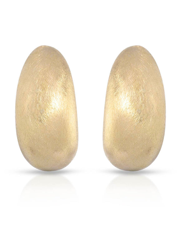 MILLANA Made In Italy Gold Plated Silver Ladies Earrings Length 26 mm
