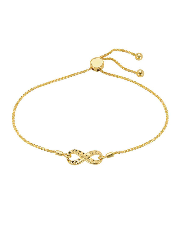 MILLANA Made In Italy 14K Gold Ladies Bracelet Weight 3.7g.