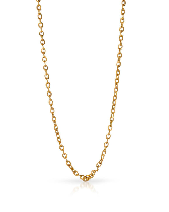 MILLANA Made In Italy 14K Gold Ladies Necklace Weight 4.0g. Length 16 in