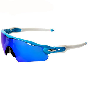 Unisex Cycling Glasses, Complete Kit, Polarized, UV400 Lenses Included.