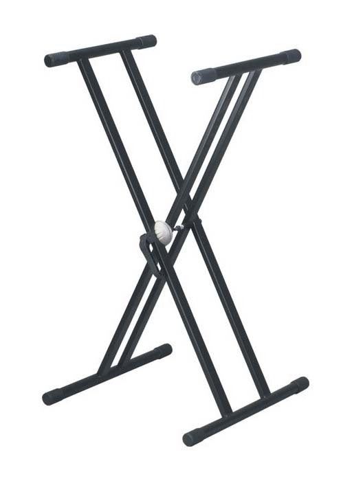 Artist KS002 Height Adjustable Keyboard Stand Double Braced