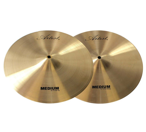 Artist MH14 Hi Hat Cymbal Pair Medium 14 Inch