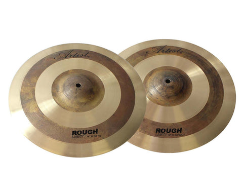 Artist RLH14 Hi Hat Cymbal Pair Rough Light 14 Inch