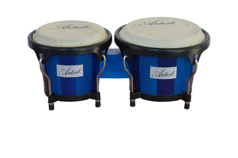 Artist AZUL67 Bongo Drums Set - 6 and 7 Inch