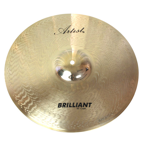 Artist BC16 Brilliant Series 16 Inch Crash Cymbal