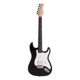 Artist EB2 Black Full Sized ST Style Electric Guitar