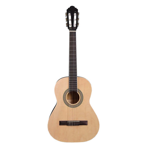 Artist CB3 3/4 Size 36 inch Classical Nylon String Guitar - Natural
