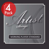 Artist 4 Pack UKST 1 set of High Grade Ukulele Strings