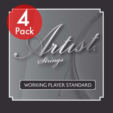 Artist CLST 4 Pack Classical Nylon Guitar Strings Normal Tension