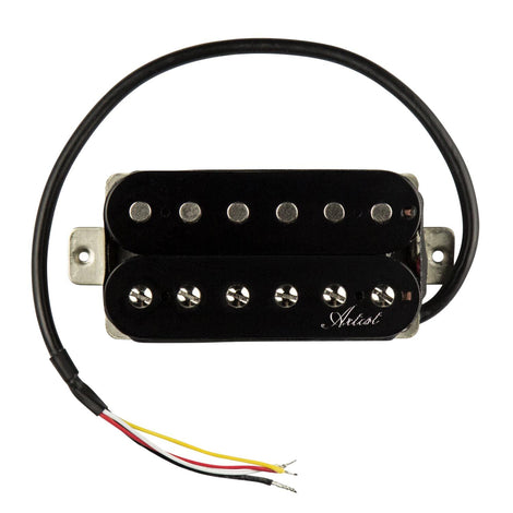Artist BullBucker Electric Guitar Humbucker Pickup Bridge - Black