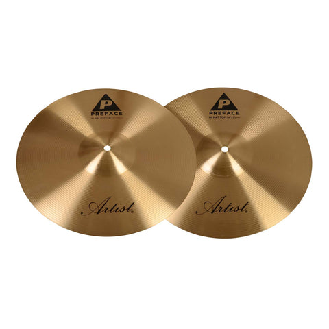 Artist PHH14 Preface Series 14 Inch Hi Hat Cymbal Pair