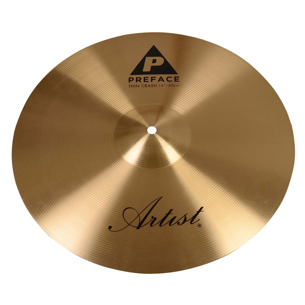 Artist PC16 Preface Series 16 Inch Crash Cymbal