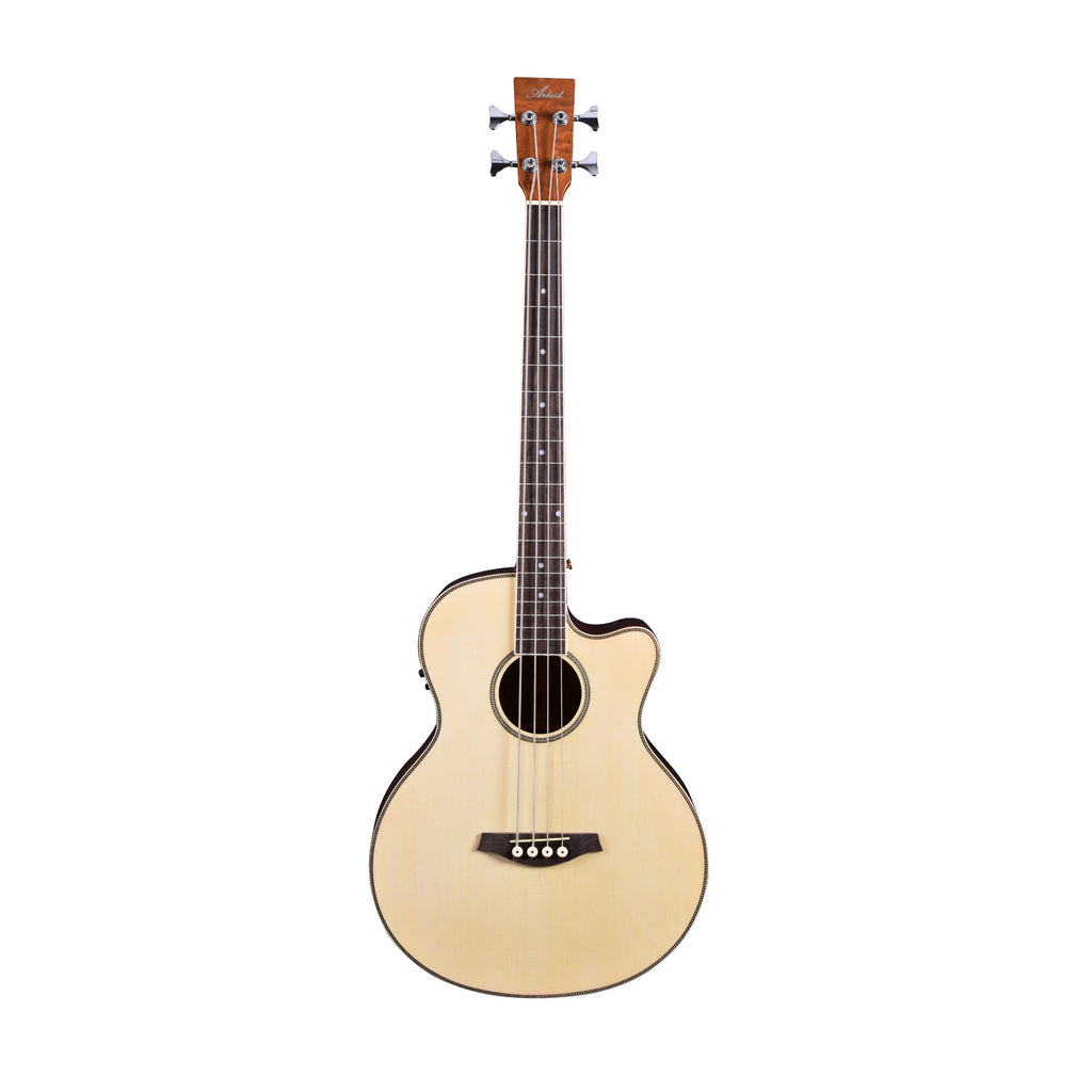 Artist ABJ60CEQ Acoustic Electric Bass with Cutaway and EQ