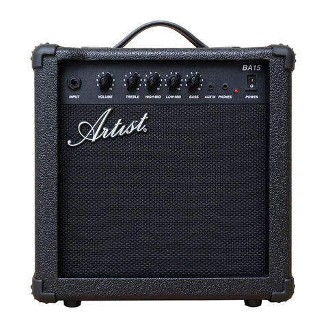 Artist BA15 15W Bass Guitar Amplifier with mp3 Input
