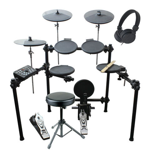 Artist EDK260 8 Piece Electronic Drum Kit with Accessories