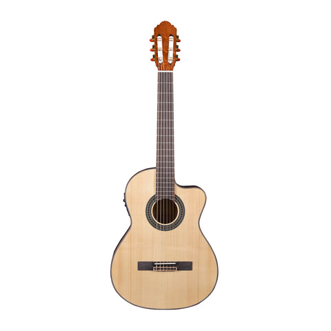 Artist CS180CEQ Solid Spruce Top Classical Guitar with Cutaway + EQ