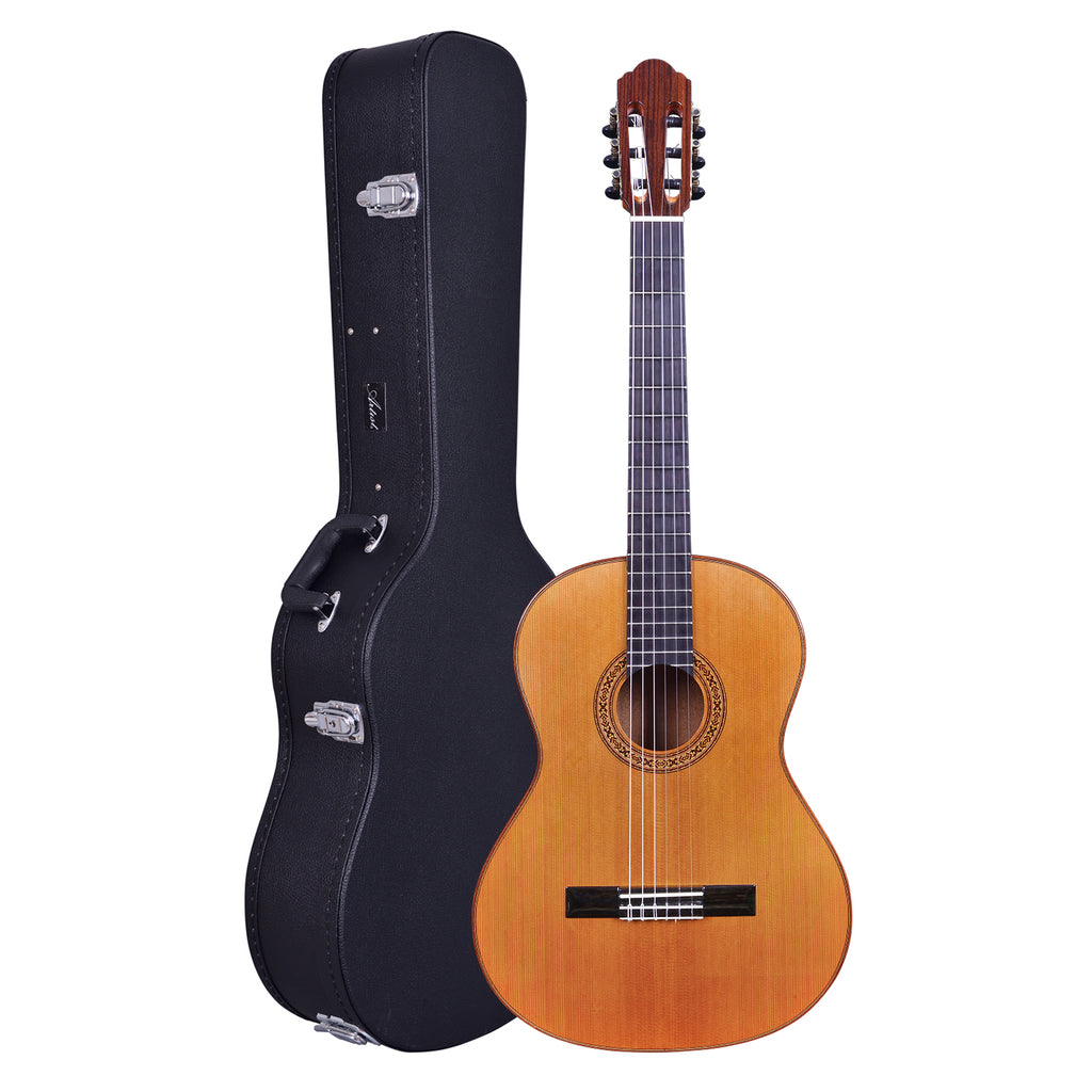 Artist TXC10 Solid Wood Classical Guitar with Hard Case