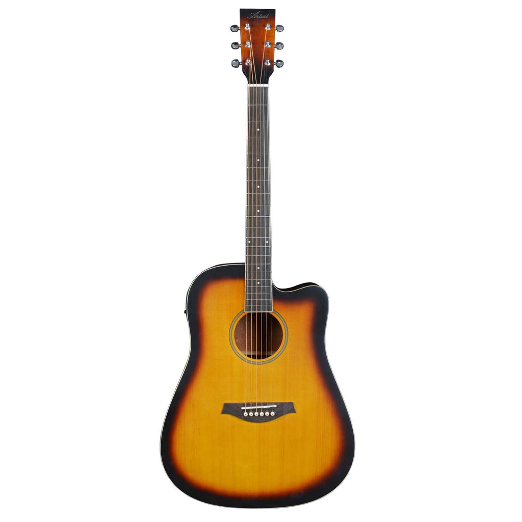 Artist BDS50CEQ Solid Spruce Top Acoustic Electric Tobacco Sunburst