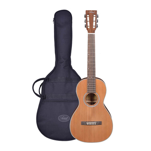 Artist OS60EQ O Sized Parlour Acoustic Electric Guitar Solid Top with Bag