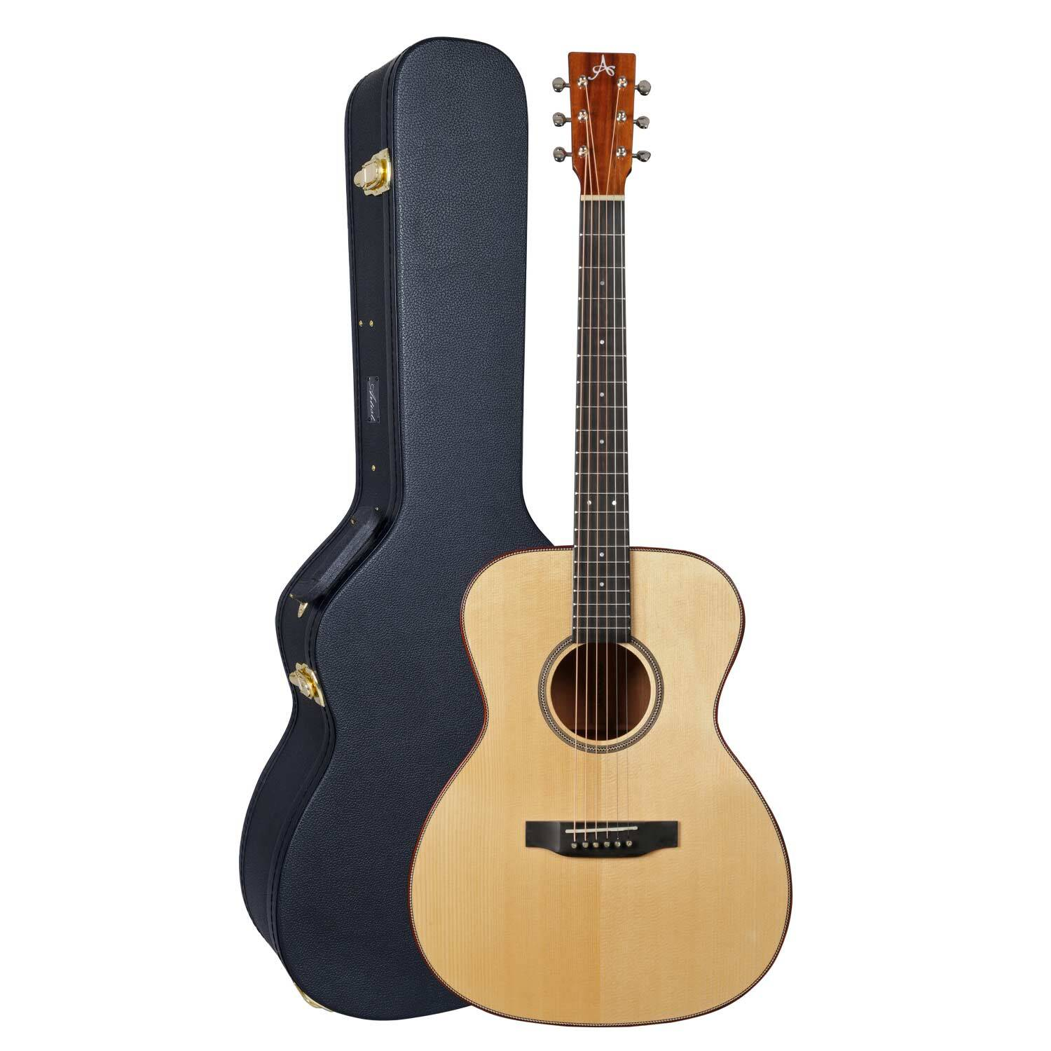 Artist DELTA2EQ Solid Wood OM Style Acoustic Guitar with EQ