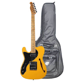 Artist TL69BNDL Left-Handed Thinline Electric w/ High-Grade Bag