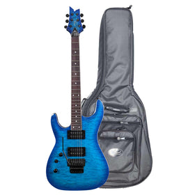 Artist GNOSIS6FRL Left-Handed Electric w/ Floyd Rose + High-Grade Bag