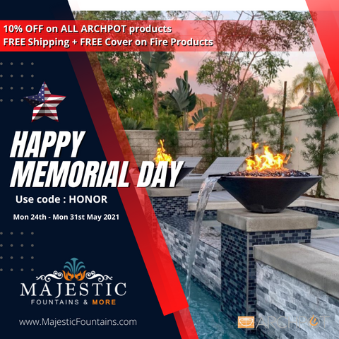 Archpot Fire and Water Bowl Memorial day sale