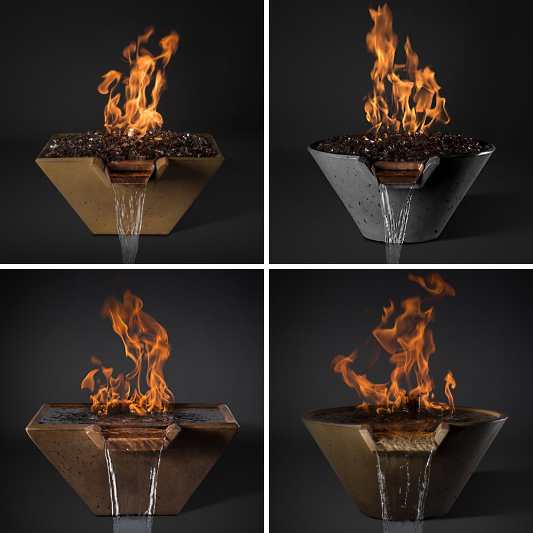 Slick Rock Fire and Water bowls