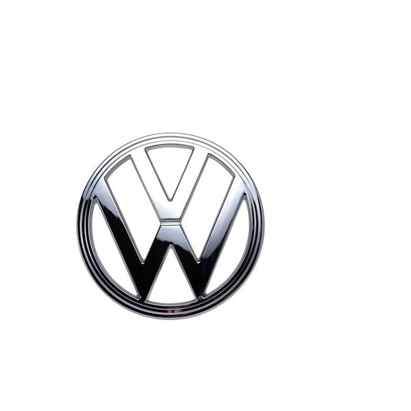 VW Kombi Badge Emblem Late Baywindow Chrome