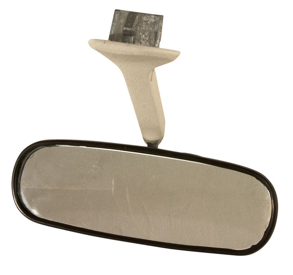 VW Kombi Interior Rear View Mirror with White Stem for 1969 to 1979 Baywindow