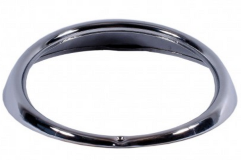VW Kombi Headlight Headlamp Rim in Chrome