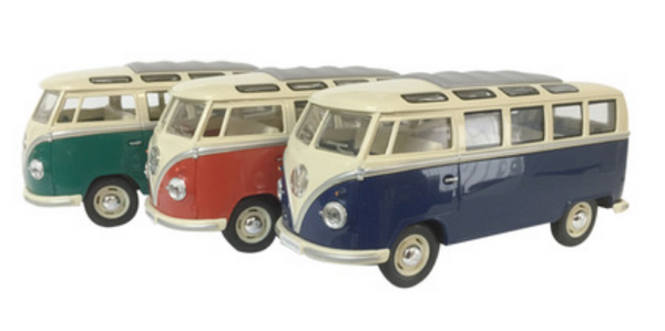 VW Kombi Samba Bus Diecast Model